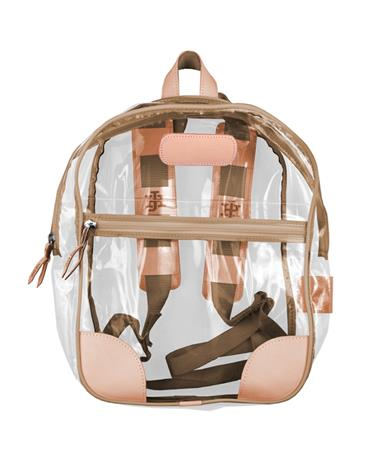 Jon Hart Saddle Clear Backpack