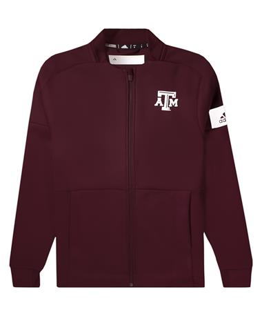 Texas A&M Adidas Women's Bomber Jacket