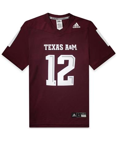 Texas A&M Adidas Men's Replica Football Jersey