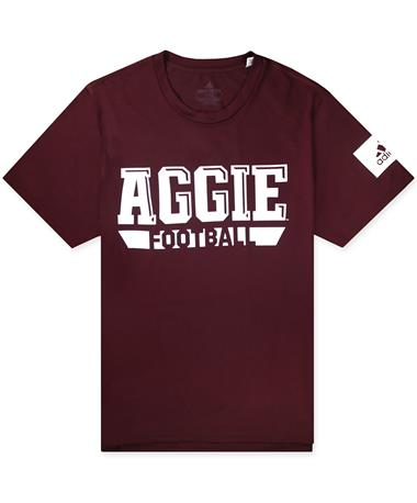 Texas A&M Adidas Football Locker Practice Creator Tee