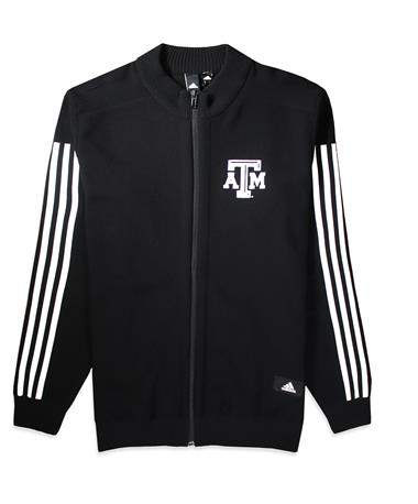 Texas A&M Adidas Stadium ID Knit Track Jacket