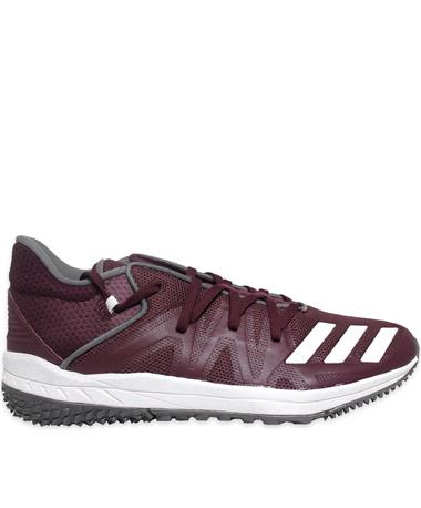 Maroon Adidas Speed Turf Shoes
