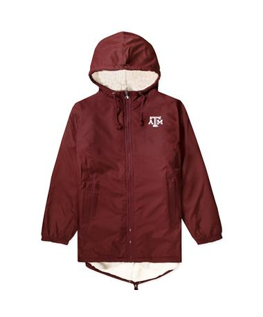 Texas A&M Champion Women`s Ultimate Stadium Jacket Maroon