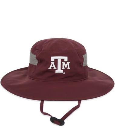 Texas A&M Columbia Bora Bora Booney II Hat - Front Deep Maroon