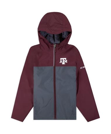Texas A&M Columbia Youth Rainzilla Jacket