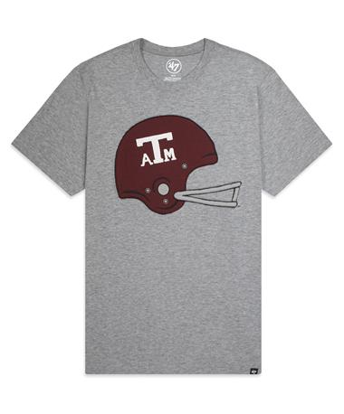 Texas A&M `47 Brand Knockout Fieldhouse T-Shirt - Front Grey