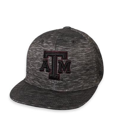 Texas A&M Youth Gritty Fitted Cap Heather Black