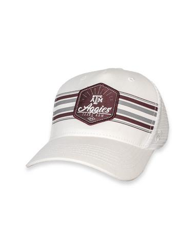 Texas A&M Youth Sunzr Snapback White/ Maroon