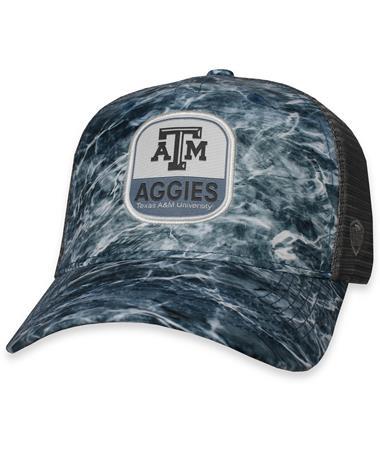 Texas A&M Wet Adjustable Snapback Mossy Oak Element/ Grey