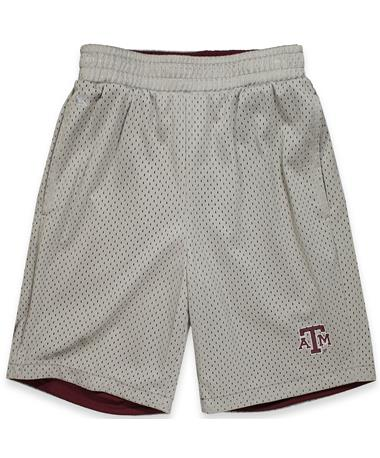 Texas A&M Youth Fieldtrip Reversible Short Grey/ Maroon