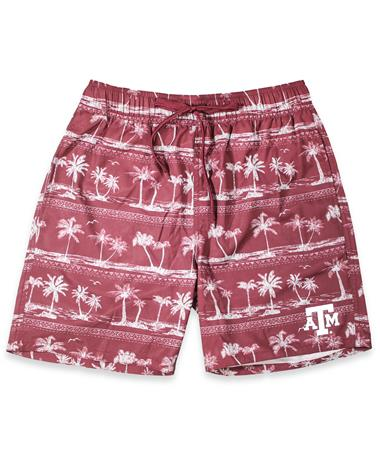 Texas A&M North Shore Mens Shore Short Maroon