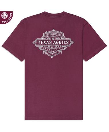 Texas A&M Aggies My Brand T-Shirt - Back Maroon AH