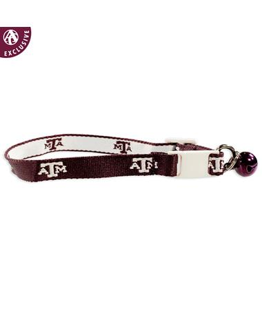 Texas A&M Cat Collar