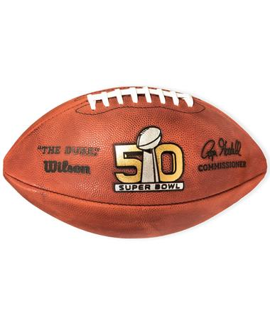 Super Bowl 50 Game Football