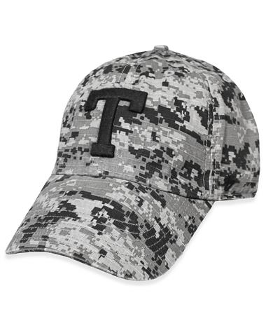 Texas A&M `47 Brand Grey Digital Camo Nilan OHT Cap - Front Grey Camo