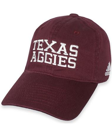 Texas A&M Adidas Adjustable Slouch Cap Maroon