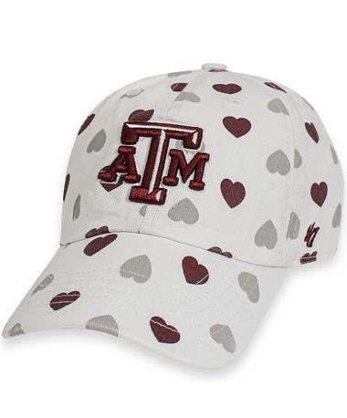 Texas A&M '47 Brand Hearts Toddler Cap