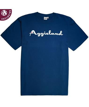 Texas A&M Aggieland Logo T-Shirt Polo A H
