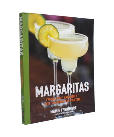 Margaritas Recipe Book - Front Multi