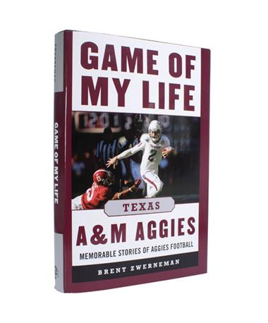 Texas A&M Football Game Of My Life Book - Front Multi