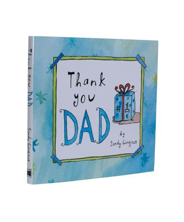 Thank You Dad Book - Front N/A