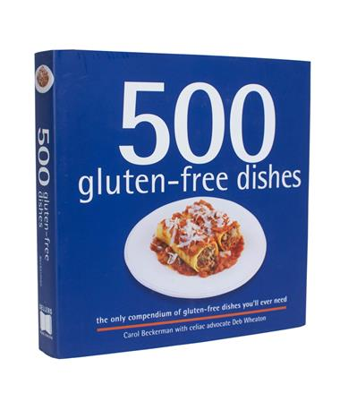 500 Gluten-Free Dishes Cookbook - Front N/A