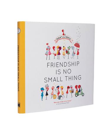 Friendship Is No Small Thing Book - Front N/A