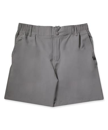FISH FLY SHORTS-Front Shoreline Grey