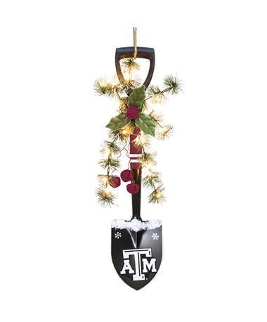 Texas A&M Light Up Garland Shovel