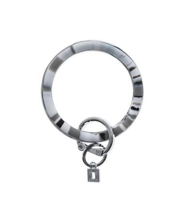 Big O Key Rings Tuxedo Marble Silicone Tuxedo Marble