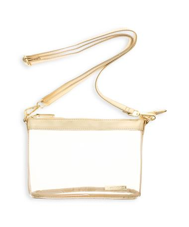Gold Clear Crossbody