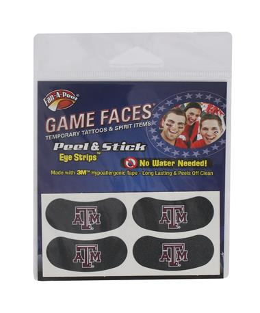 Texas A&M Temporary Eye Blacks Multi