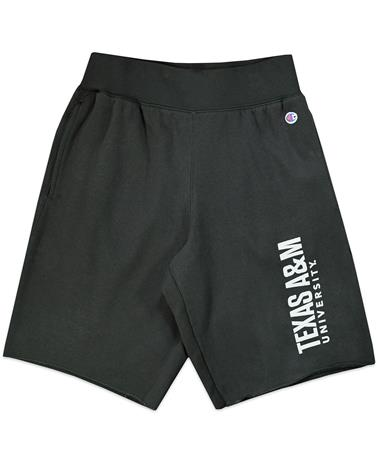 Texas A&M Champion Men's Rochester Fleece Shorts
