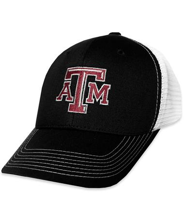 Texas A&M GameGuard Caviar Cap - Angled Caviar/White