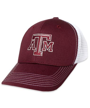 Texas A&M GameGuard Maroon Meshback Cap