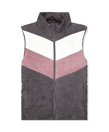 Women's High Neck Full Zip Vest