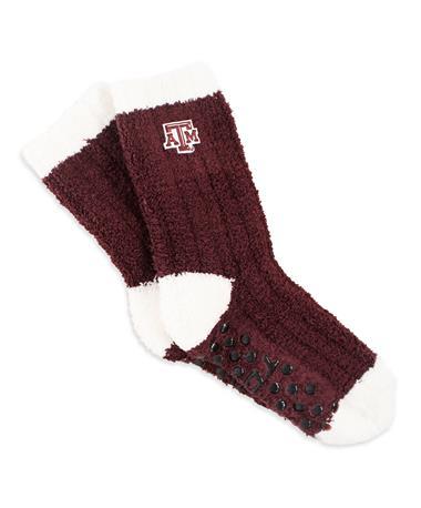 Texas A&M Miss Chalet Knit Socks MAROON