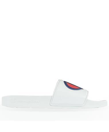 Champion White Slides