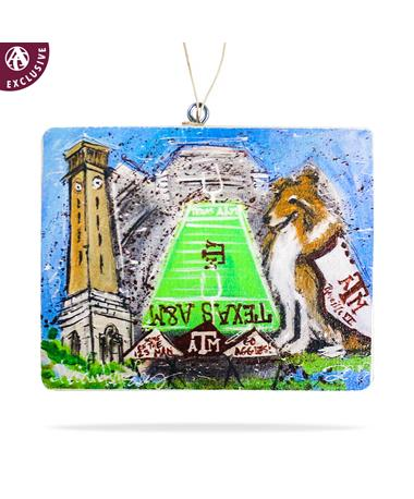 Texas A&M Heidi Hensley Ornament