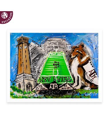 Texas A&M Heidi Hensley Notecard