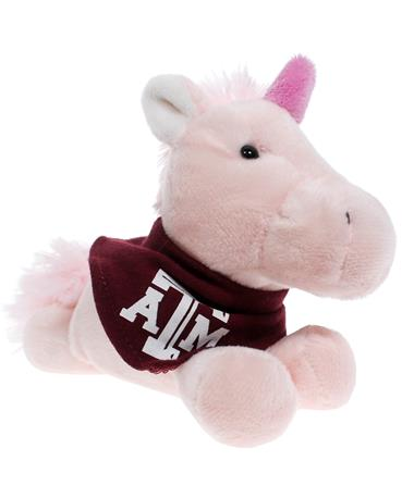 Texas A&M Short Stack Plush Unicorn