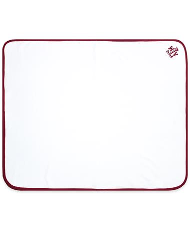 Texas A&M Maroon Trim Thermal Blanket MAROON