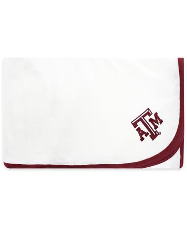 Texas A&M Maroon Trim Thermal Blanket