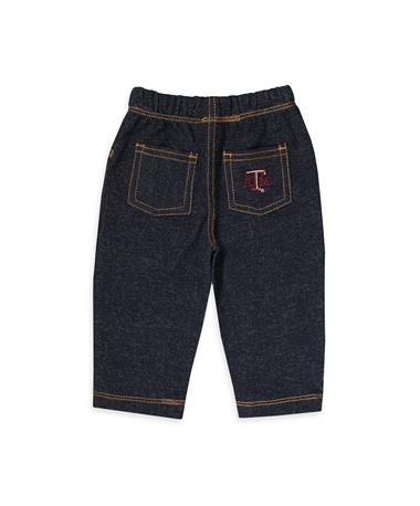 Texas A&M Infant Jeans - Back DENIM