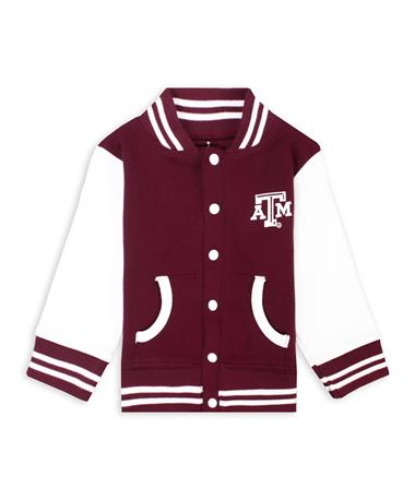 Texas A&M Lil' Ags Varsity Jacket