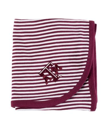 Texas A&M Aggie Striped Blanket