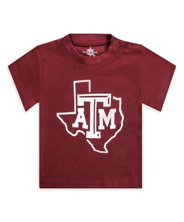 Texas A&M Lone Star Short Sleeve Tee MAROON