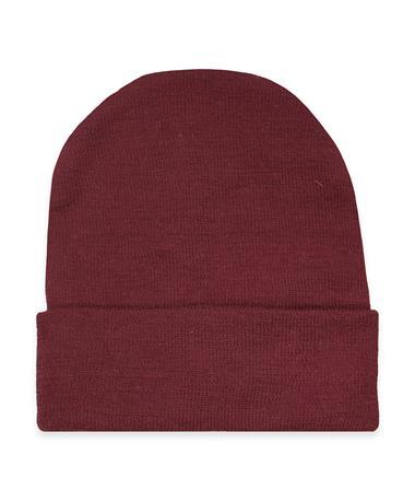 Maroon Newborn Knit Cap