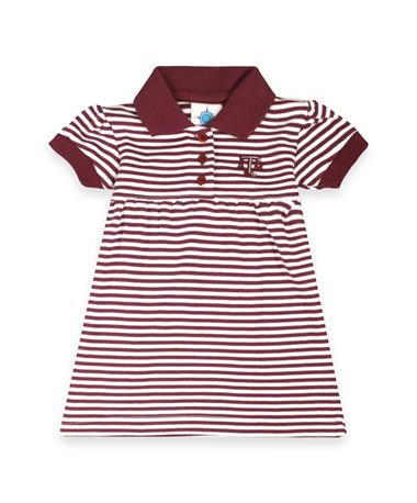 Texas A&M Aggies Striped Dress & Bloomers Set