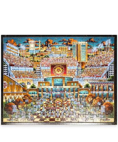Texas A&M Kyle Field 150 Piece Puzzle